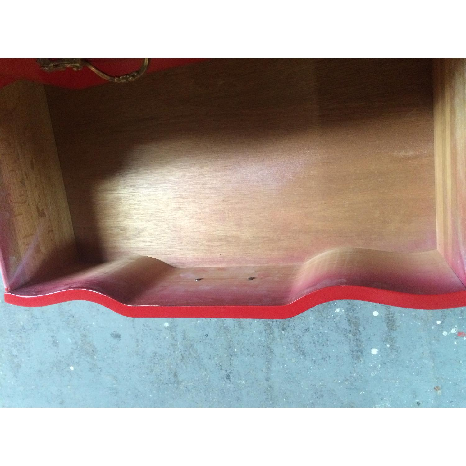 Solid Maple Wood Chinese Red Sideboard - image-11