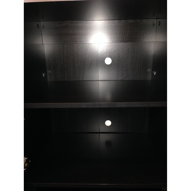 South Shore Furniture Cosmos Bookcase Shelf w/ Glass Door - image-3