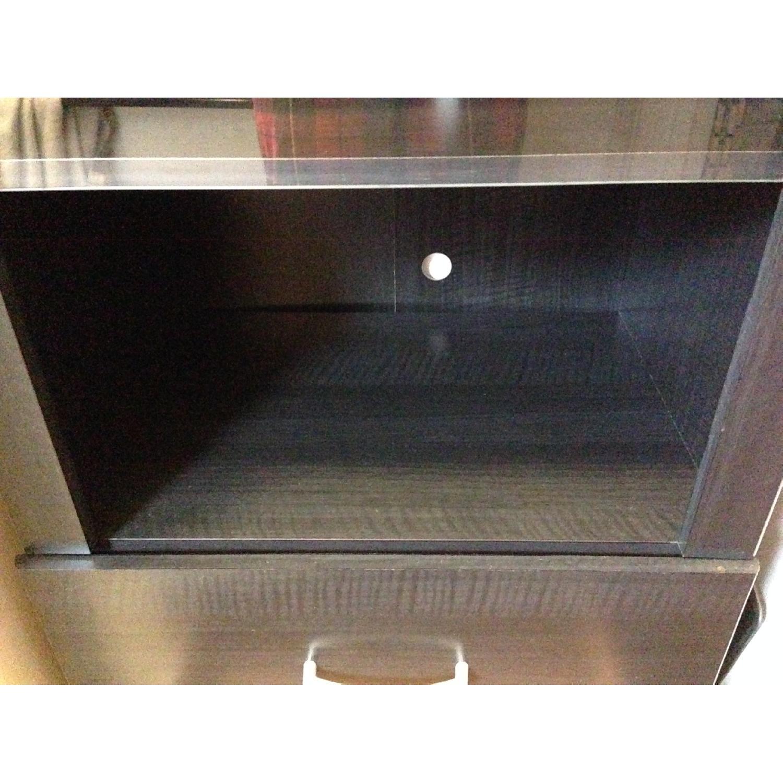 South Shore Furniture Cosmos Bookcase Shelf w/ Glass Door - image-8