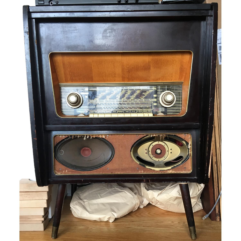 Vintage Console Radio - image-1
