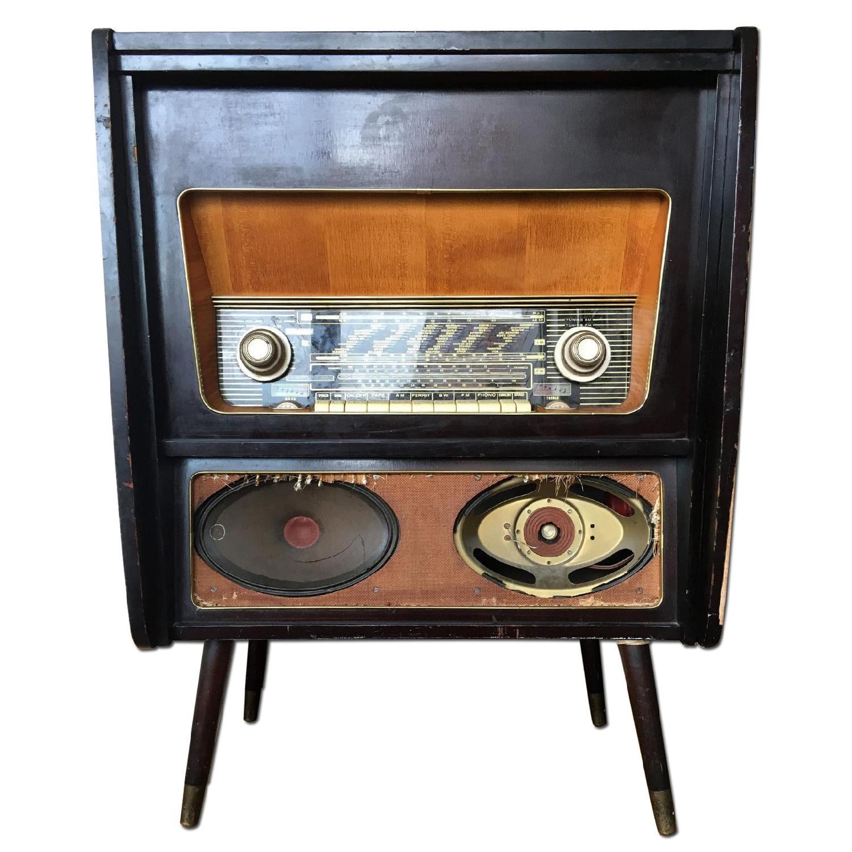 Vintage Console Radio - image-0