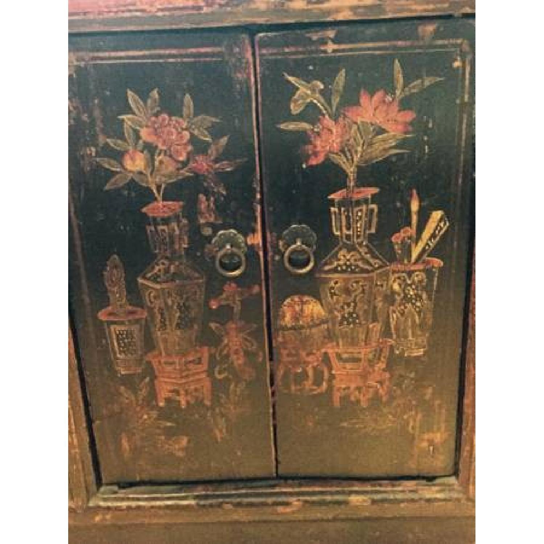 Antique Japanese Entryway Unit - image-3