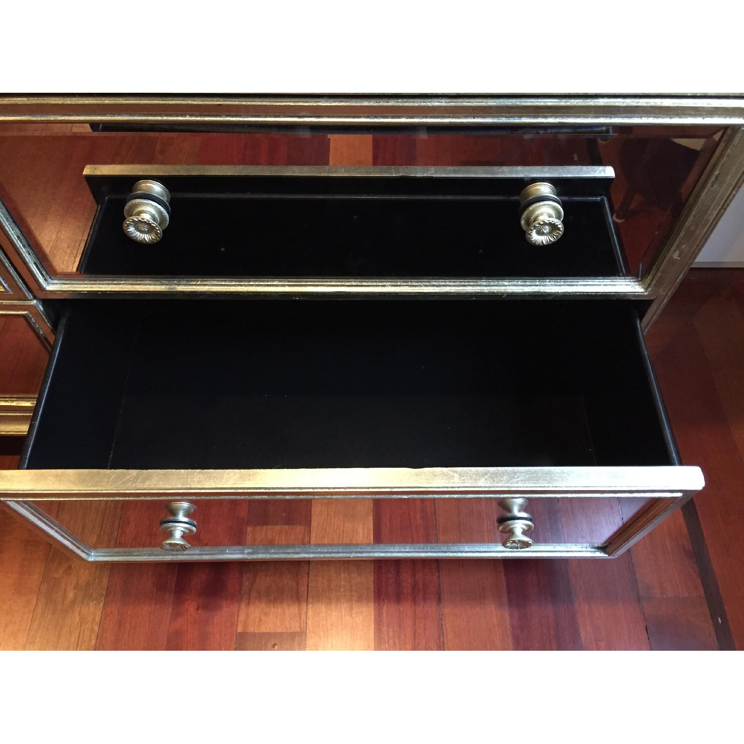 Z Gallerie Borghese Mirrored 7 Drawer Chest - image-1