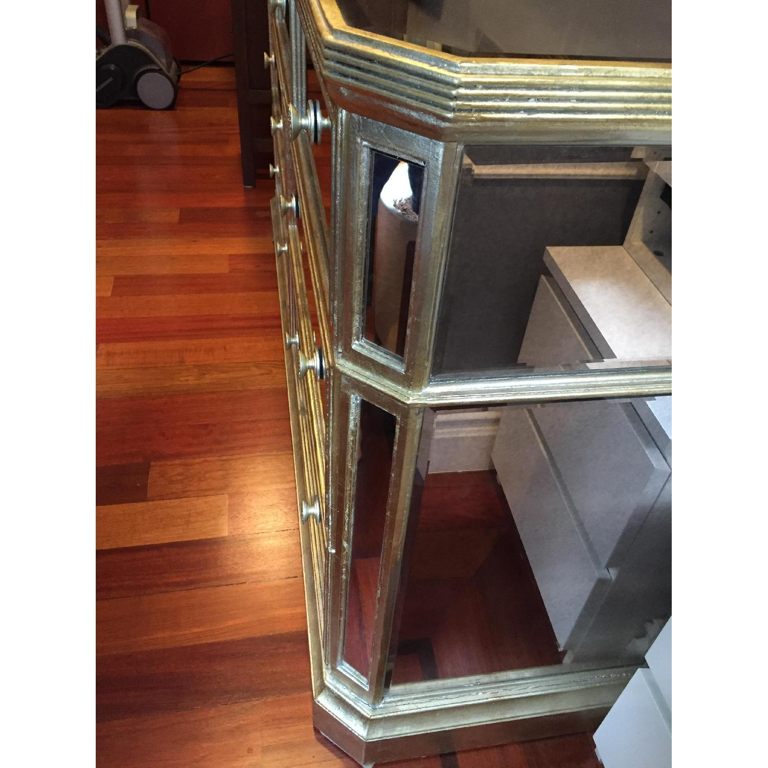 Z Gallerie Borghese Mirrored 7 Drawer Chest - image-2