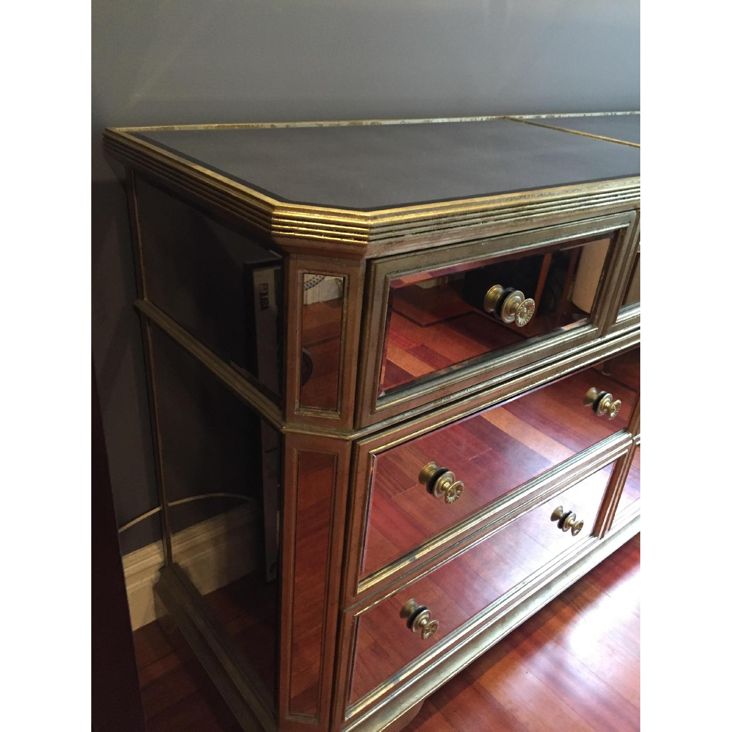 Z Gallerie Borghese Mirrored 7 Drawer Chest - image-3
