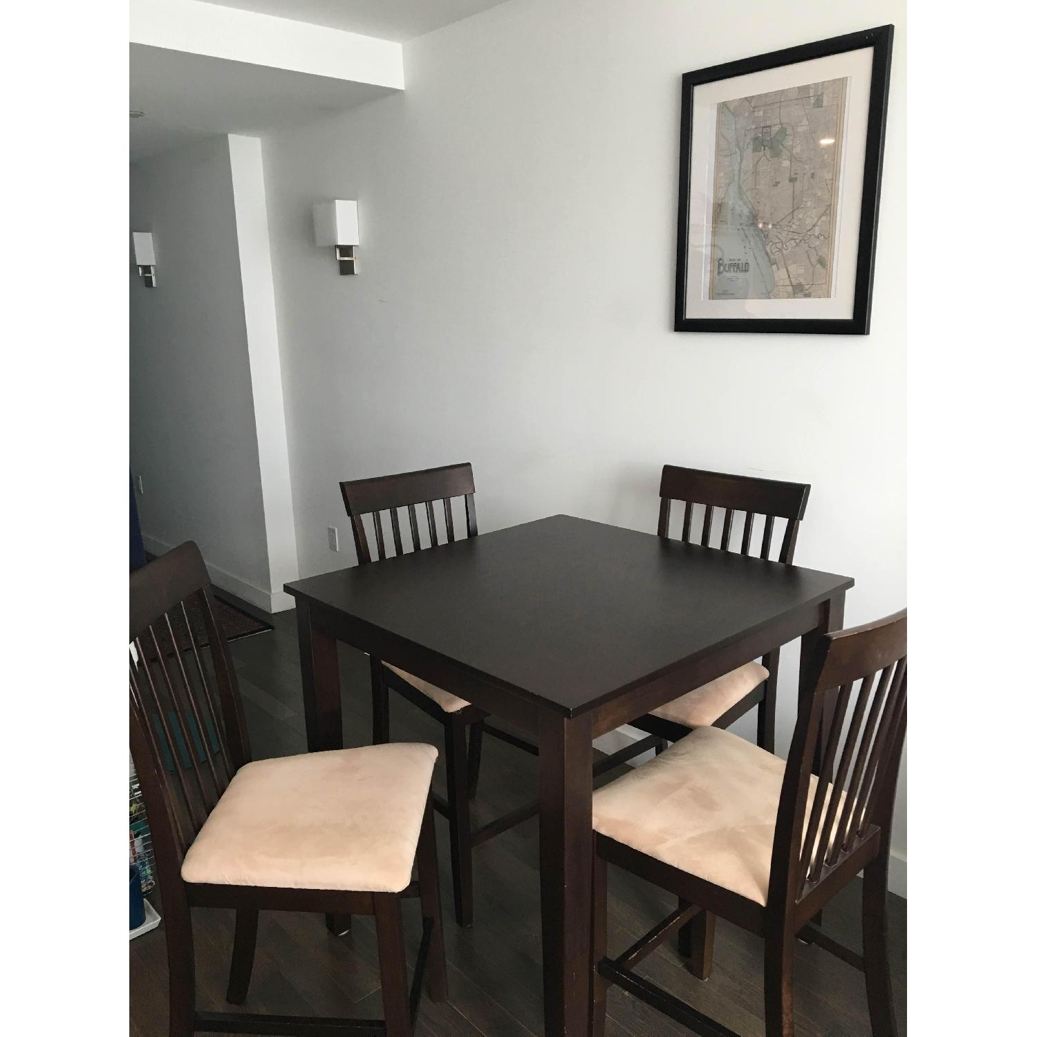 The Door Store Solid Wood 5 Piece Counter Height Dining Set - image-1