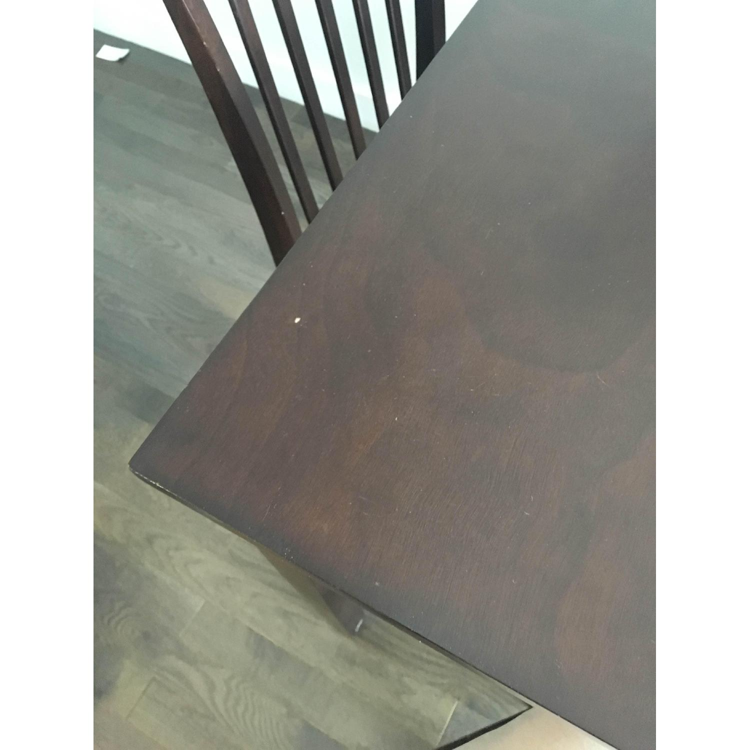 The Door Store Solid Wood 5 Piece Counter Height Dining Set - image-4