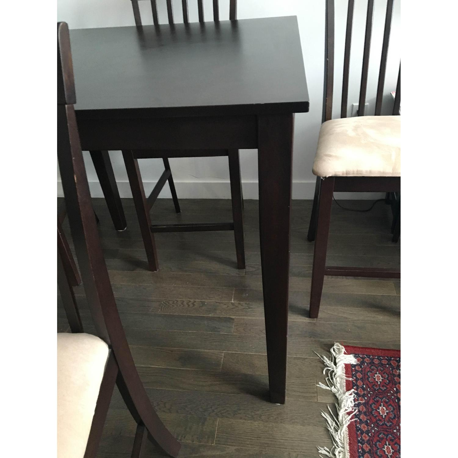 The Door Store Solid Wood 5 Piece Counter Height Dining Set - image-6
