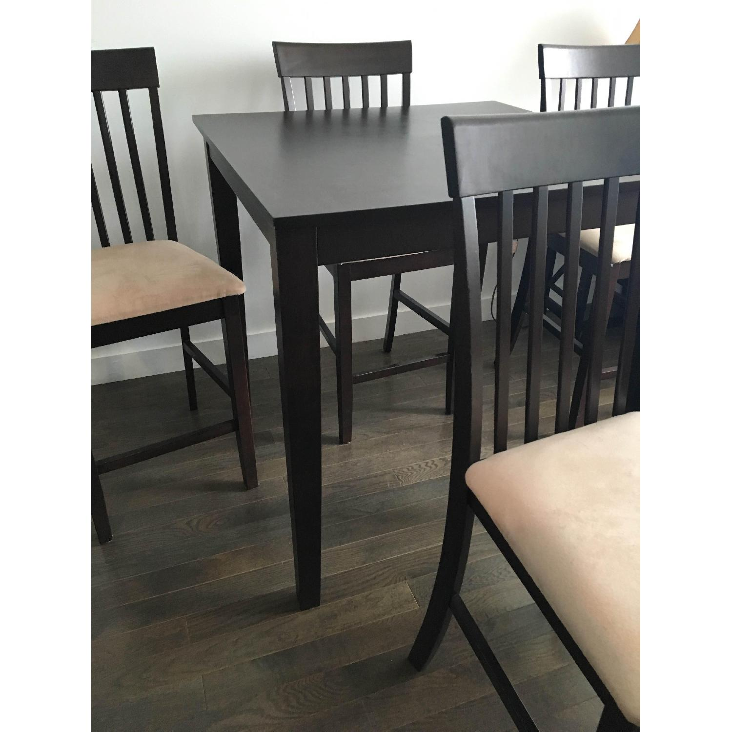 The Door Store Solid Wood 5 Piece Counter Height Dining Set - image-7
