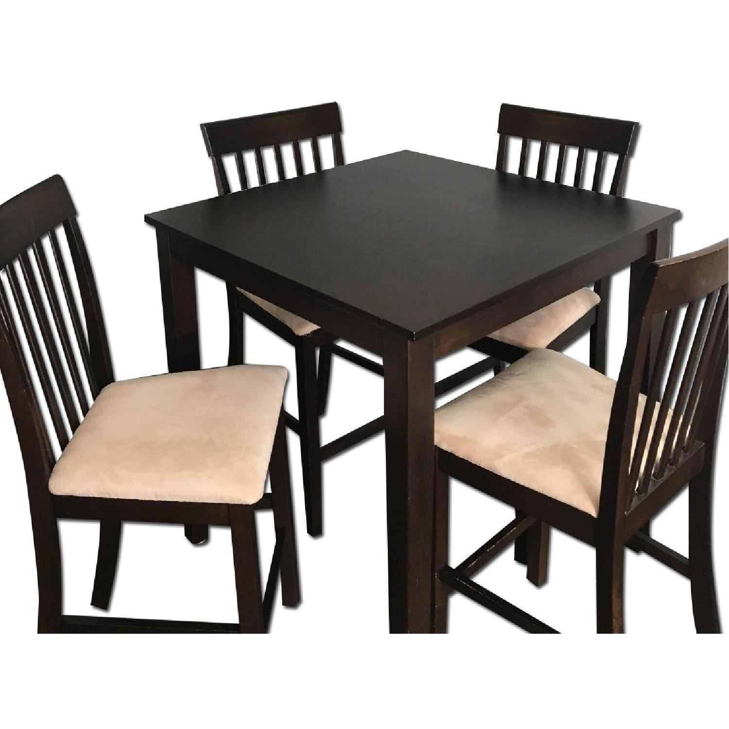 The Door Store Solid Wood 5 Piece Counter Height Dining Set - image-0