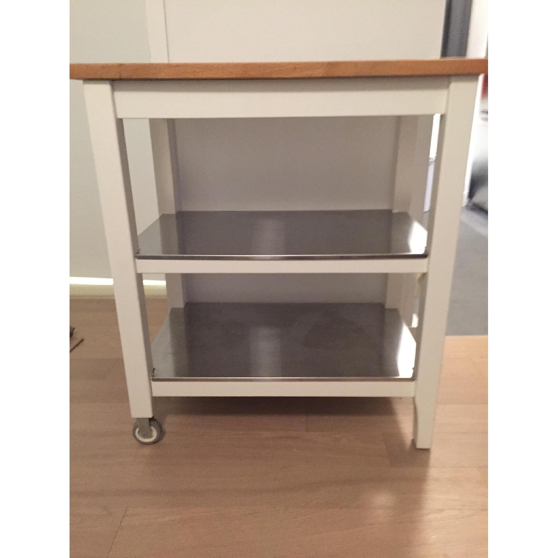 Ikea Stenstorp Kitchen Cart - image-1
