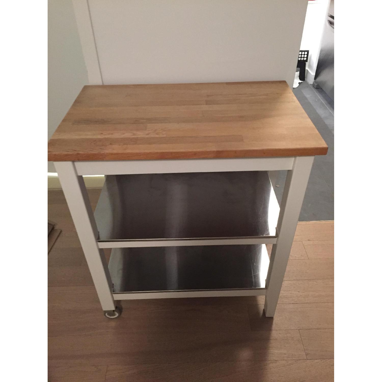 Ikea Stenstorp Kitchen Cart - image-3