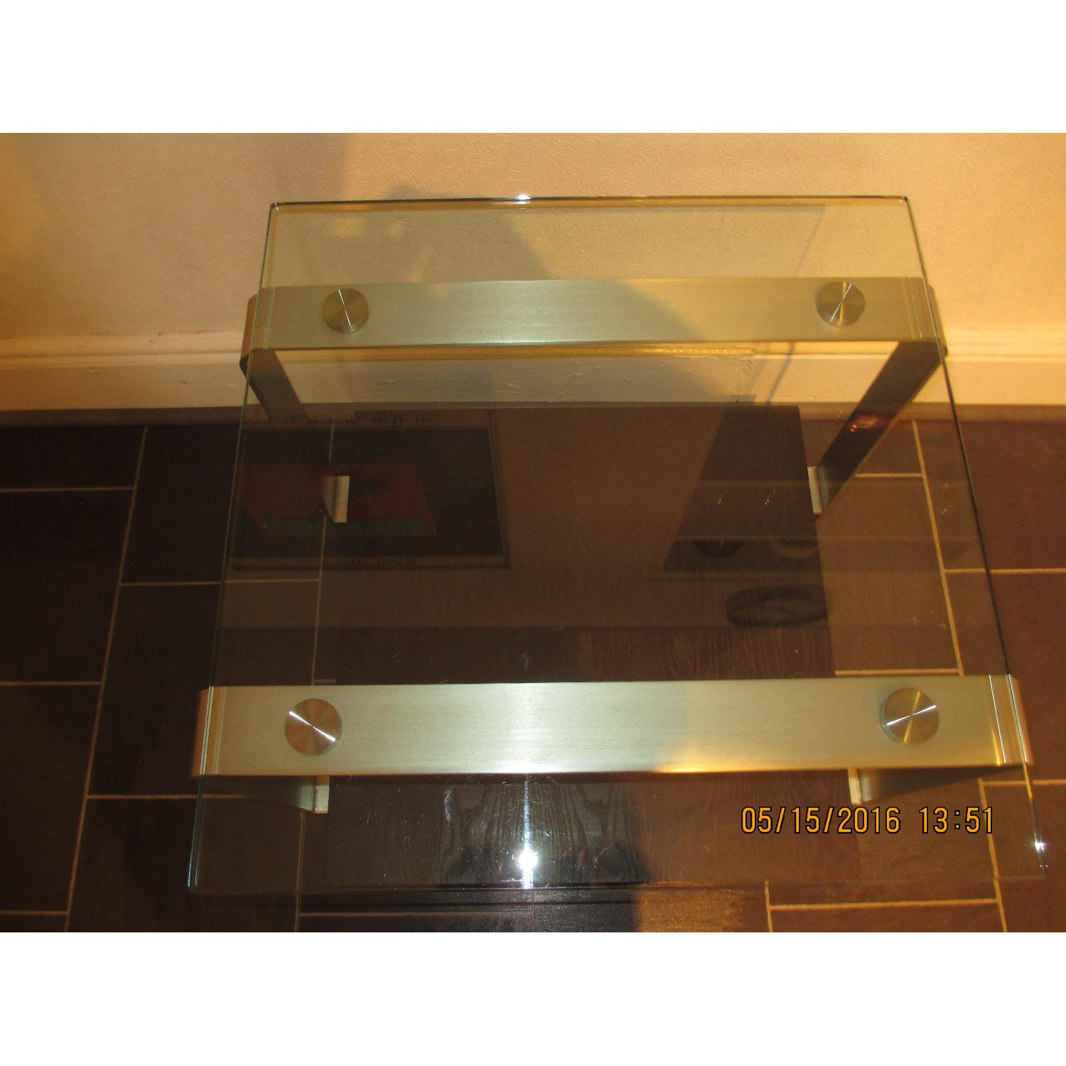 Glass Top Side Table - image-3