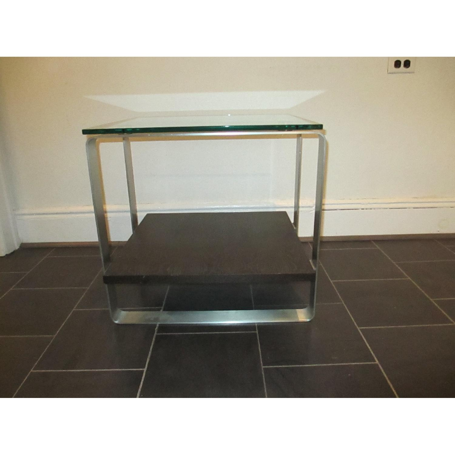 Glass Top Side Table - image-4