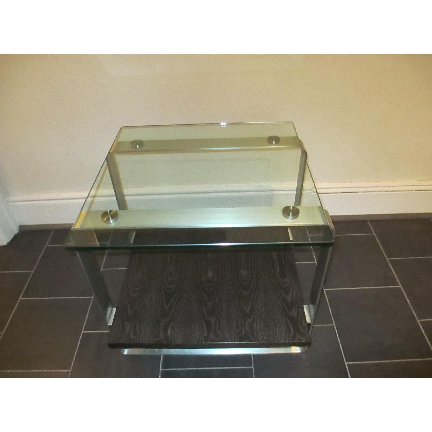Glass Top Side Table - image-5