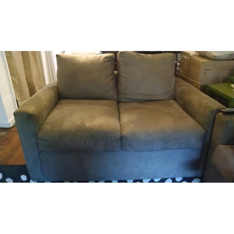 Bob's Sleeper Sofa + Loveseat - image-1