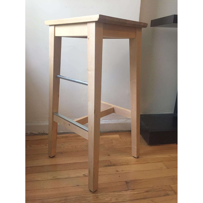 Ikea Bosse Birch Bar Stool - image-3