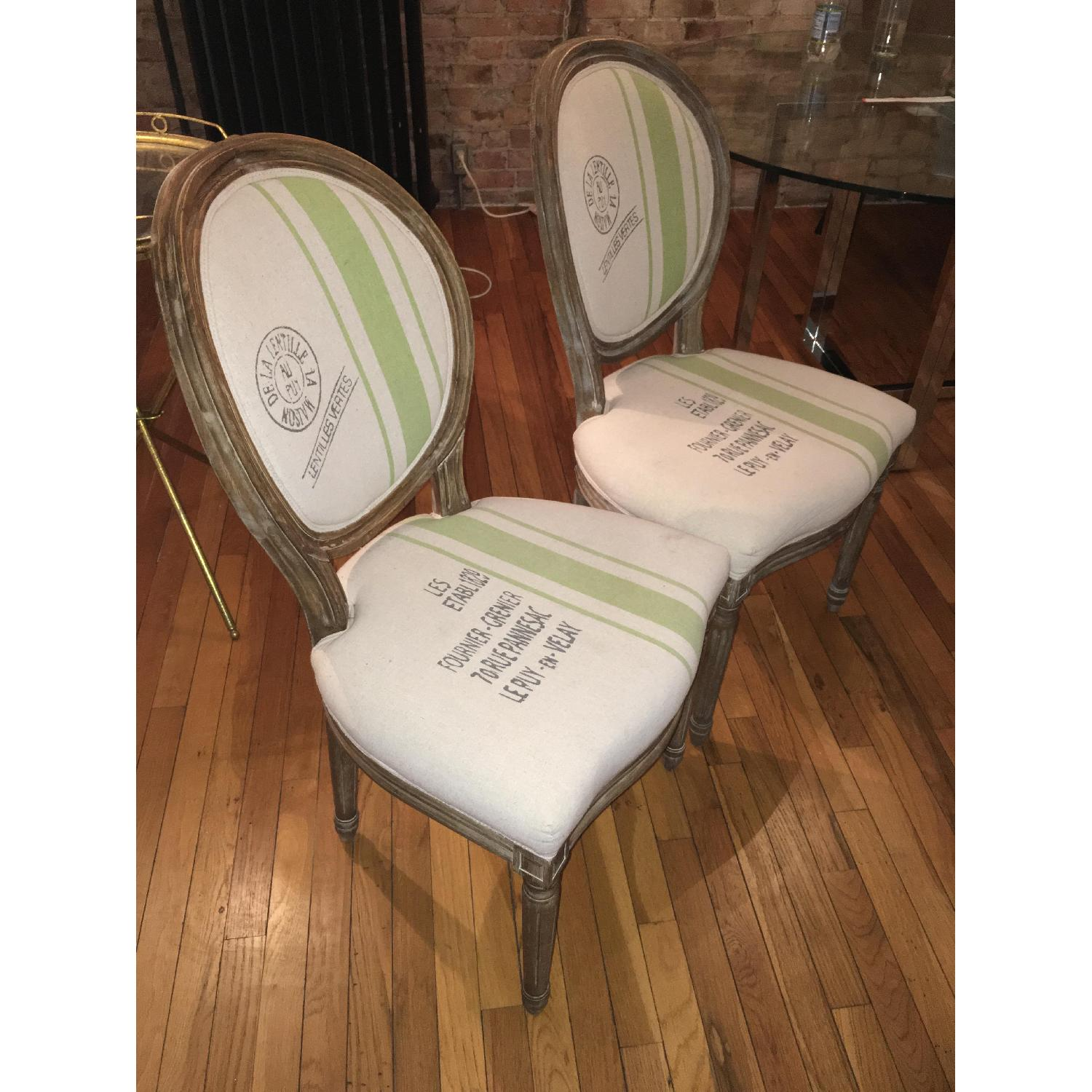 Louis XVI Boutique Design Dining Chairs - 2 Available - image-5