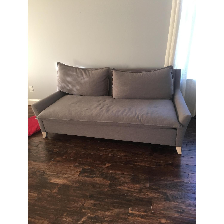 West Elm Bliss Sofa in Slate - image-1