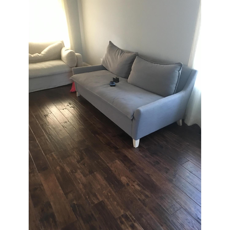 West Elm Bliss Sofa in Slate - image-3