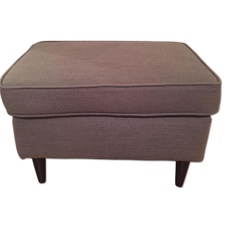 Ikea Strandmon Footstool in Nordvalla Dark Gray - image-0