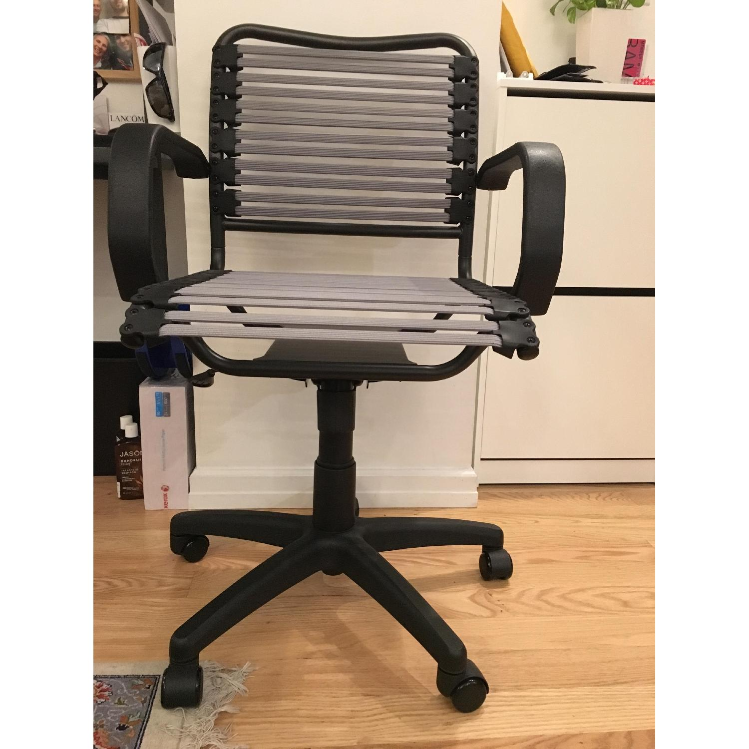 The Container Store Silver Flat Bungee Office Chair w/ Arms - image-1