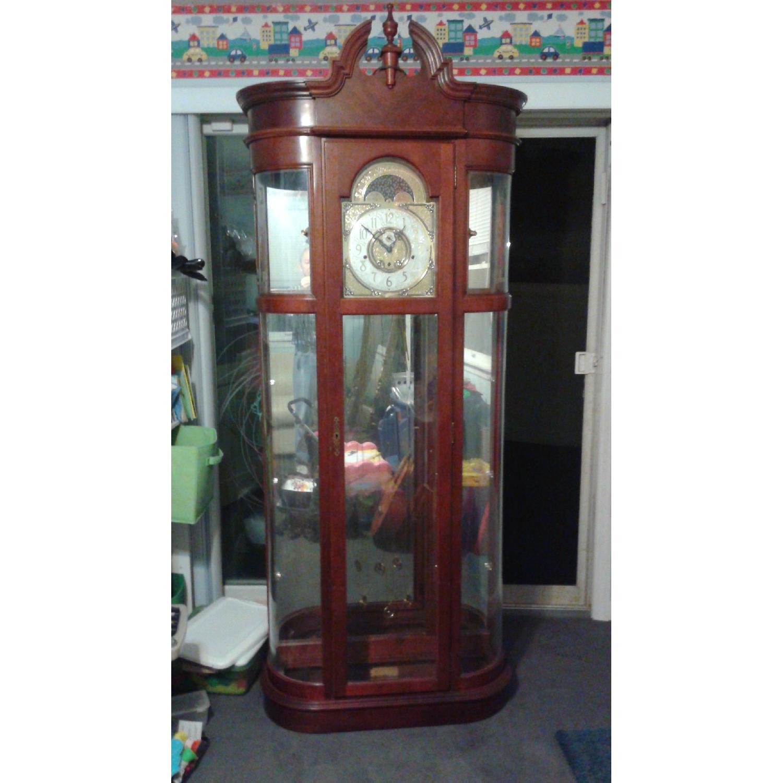Ridgeway Clocks Rounded Curio Clock - image-1