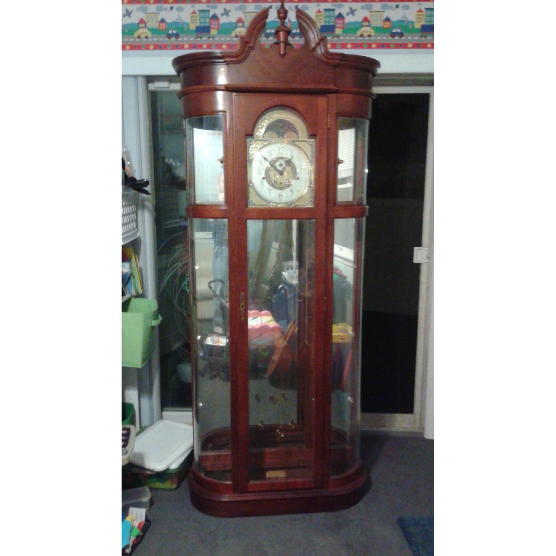 Ridgeway Clocks Rounded Curio Clock - image-3
