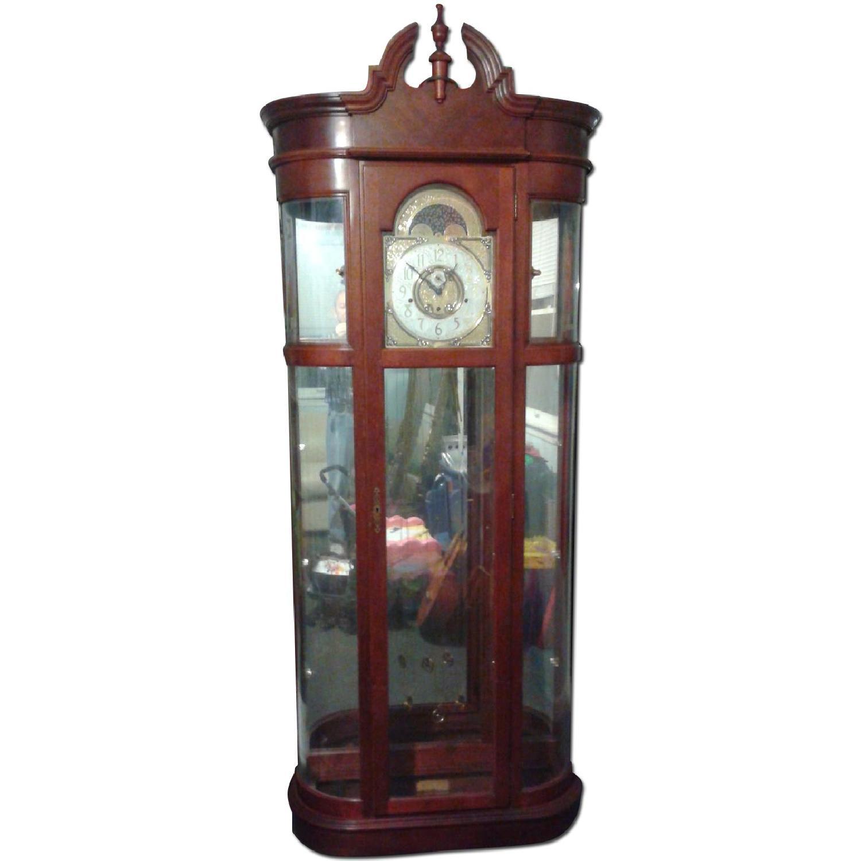 Ridgeway Clocks Rounded Curio Clock - image-0