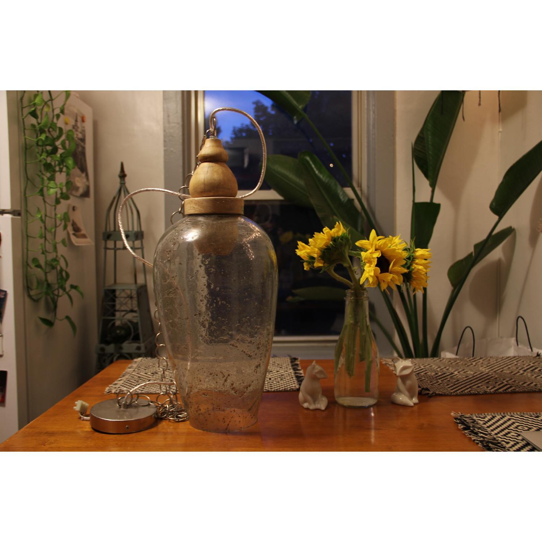 Glass Pendant Chandelier Light - image-4