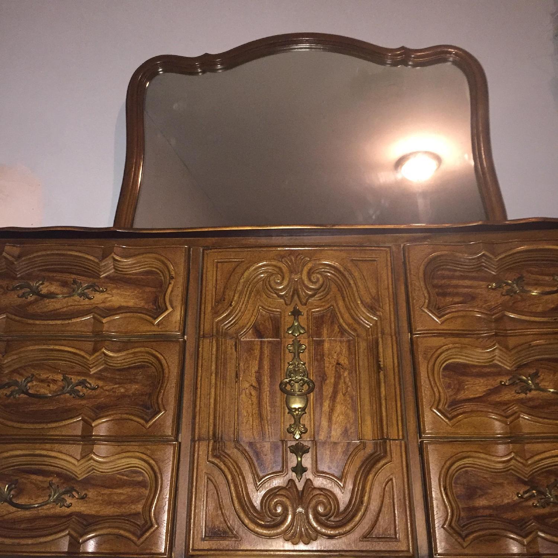 Antique Dresser w/ Mirror - image-7
