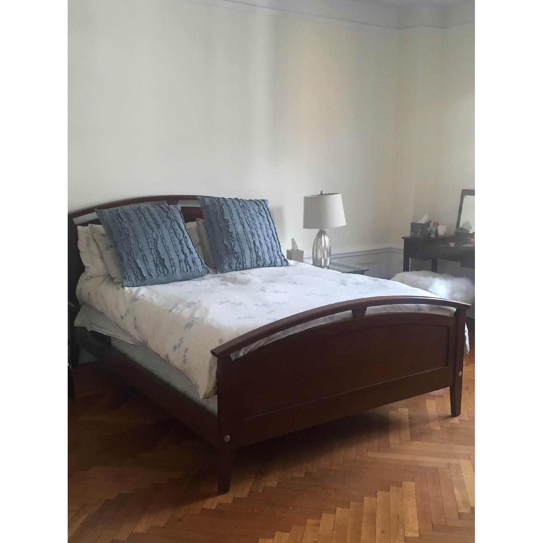Ethan Allen Queen Bed - image-3