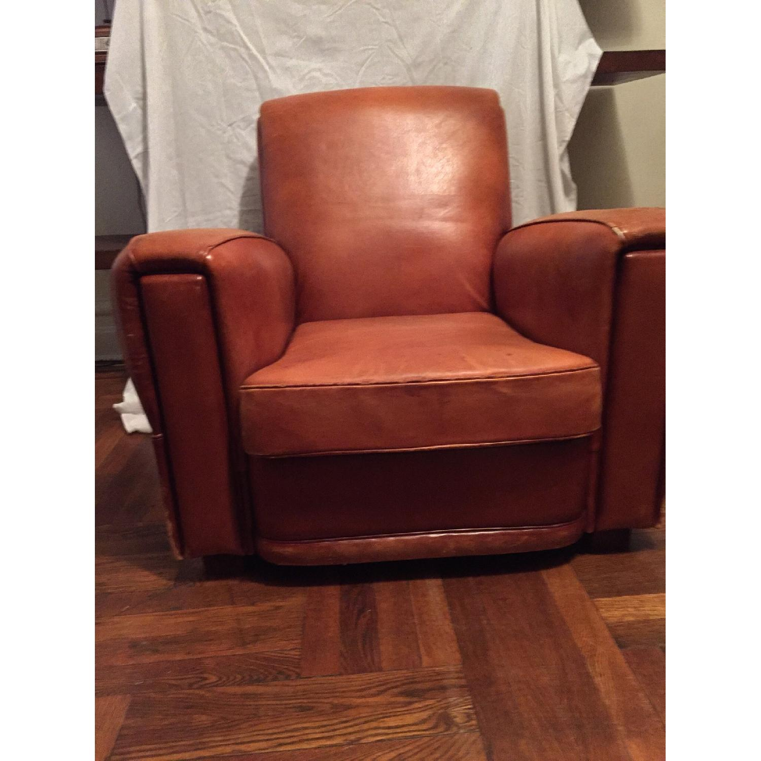 Portico Leather Club Chair - image-2