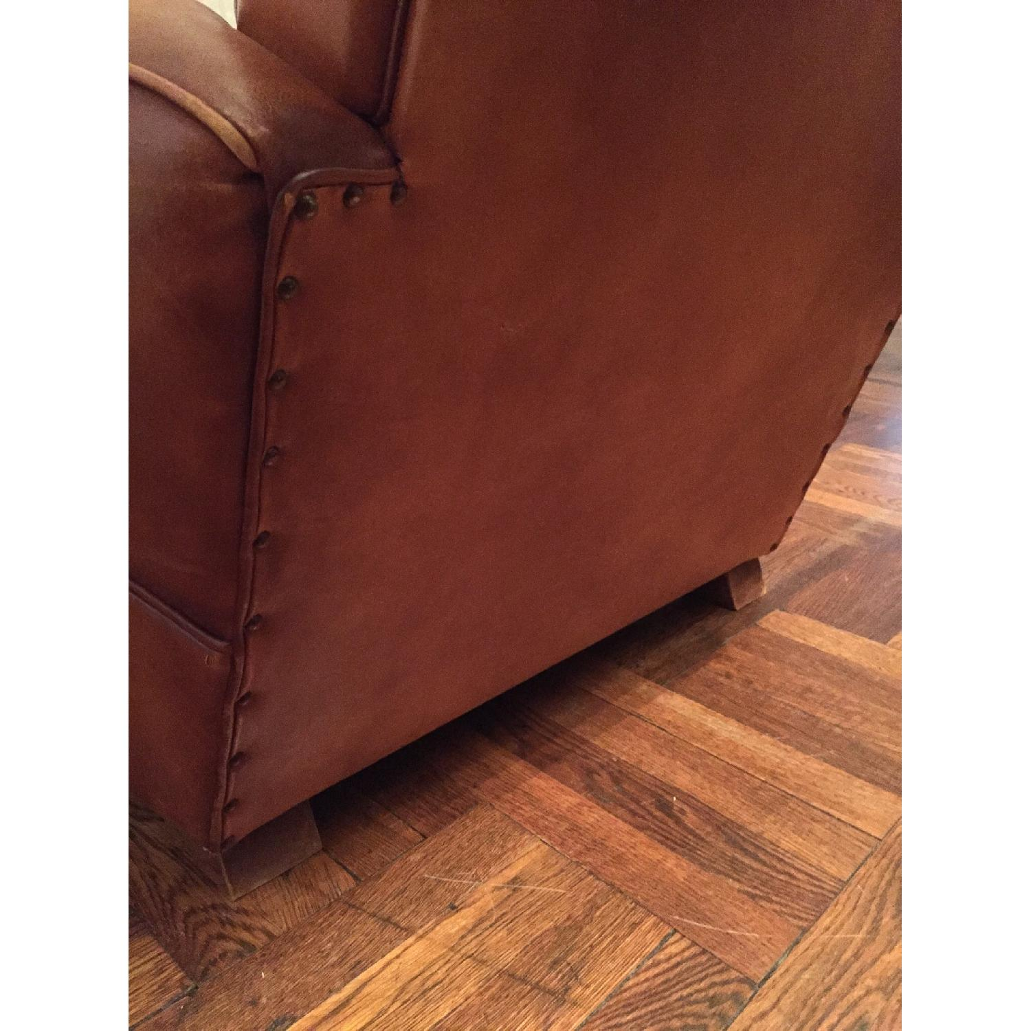 Portico Leather Club Chair - image-6