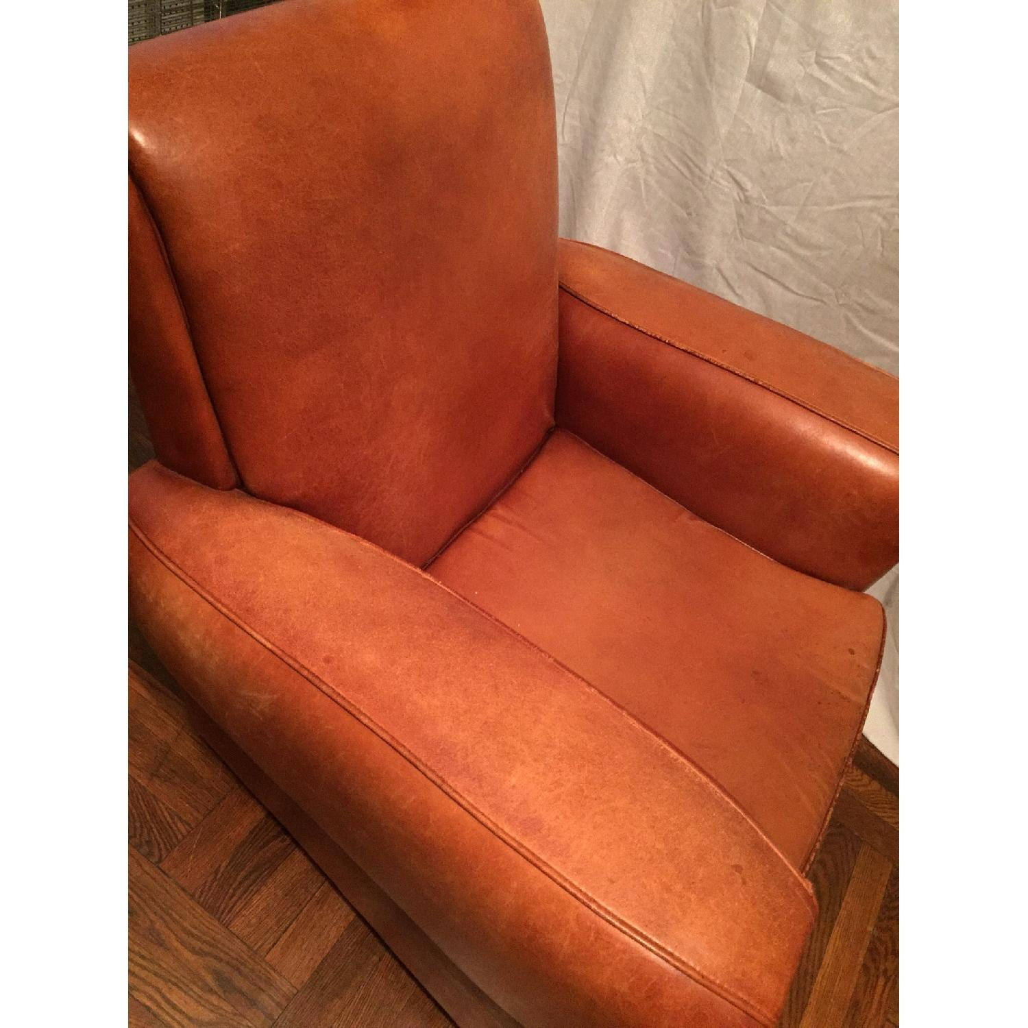 Portico Leather Club Chair - image-7