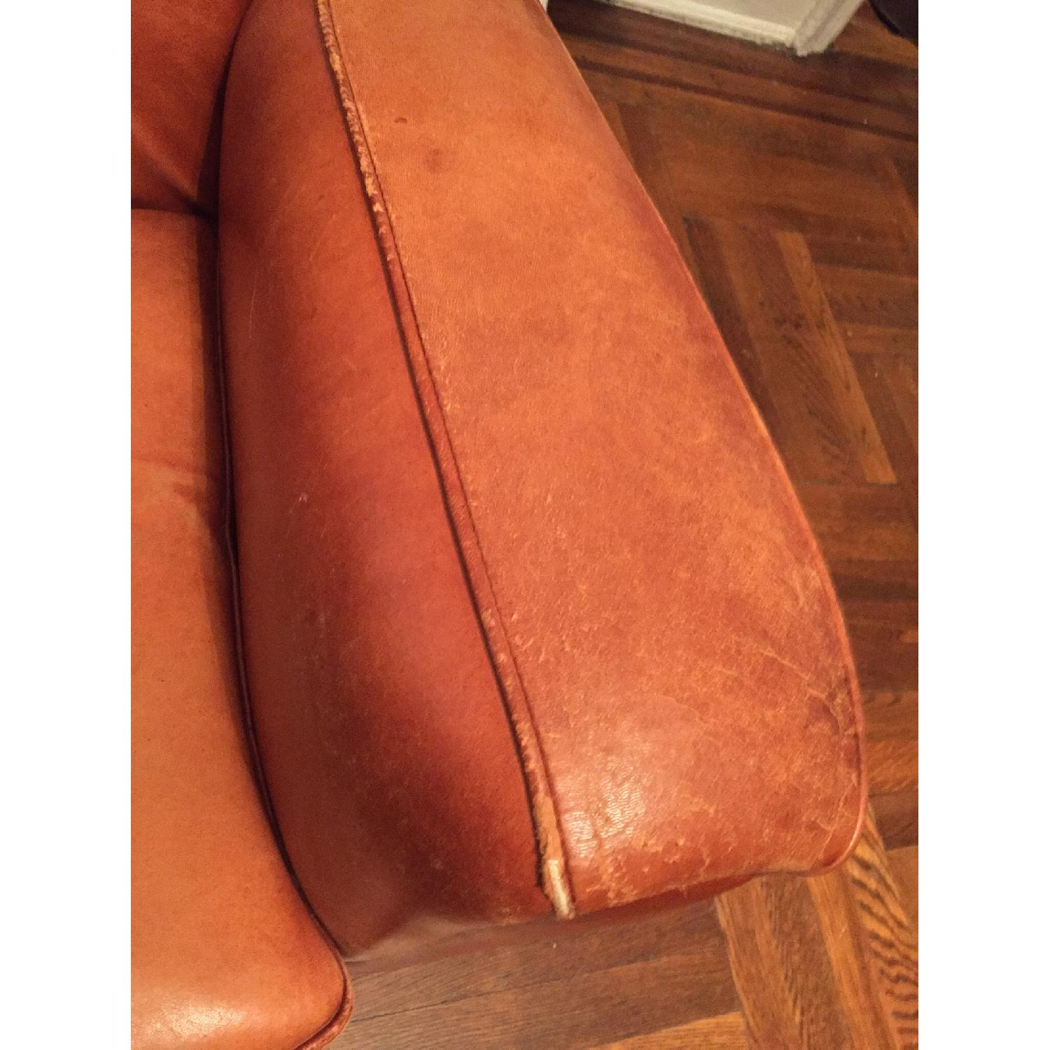 Portico Leather Club Chair - image-9