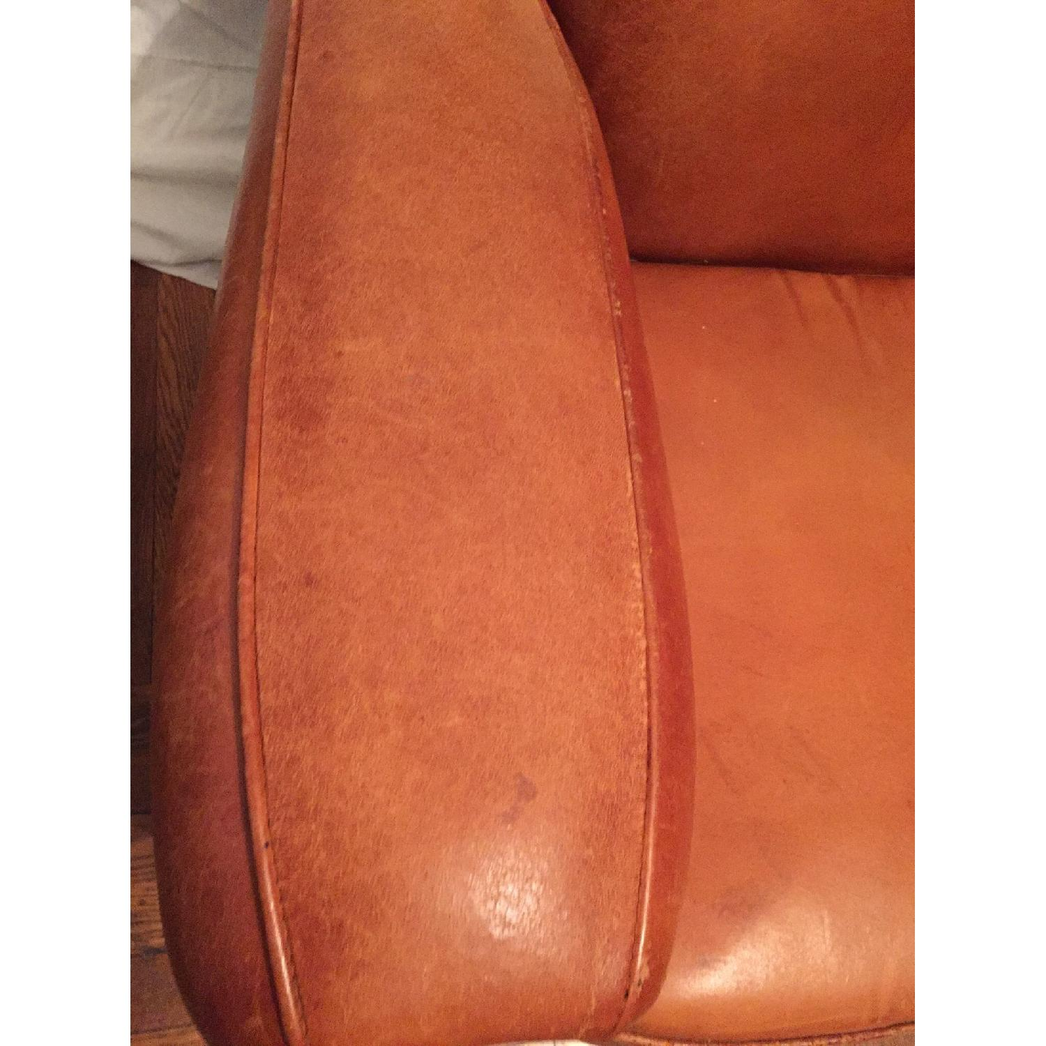 Portico Leather Club Chair - image-10