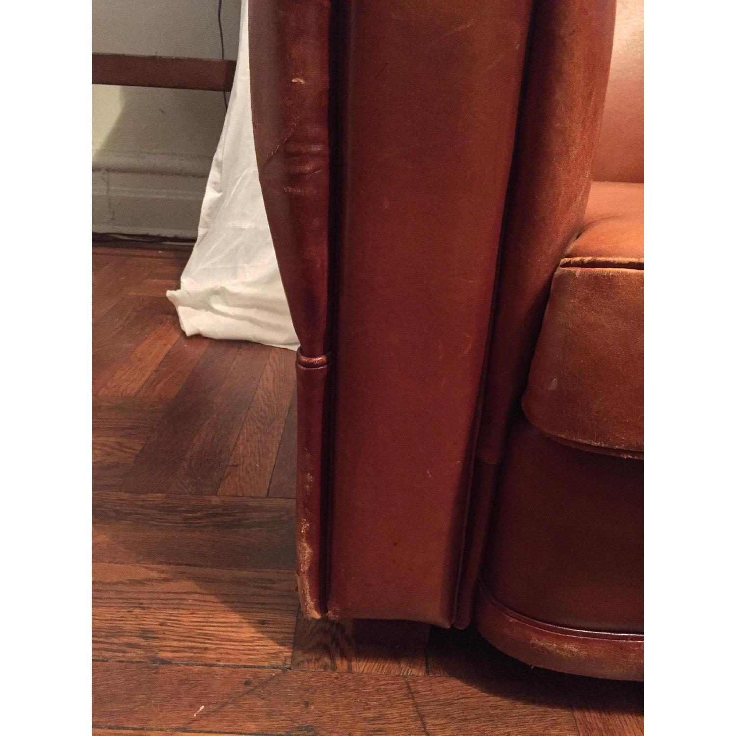 Portico Leather Club Chair - image-11