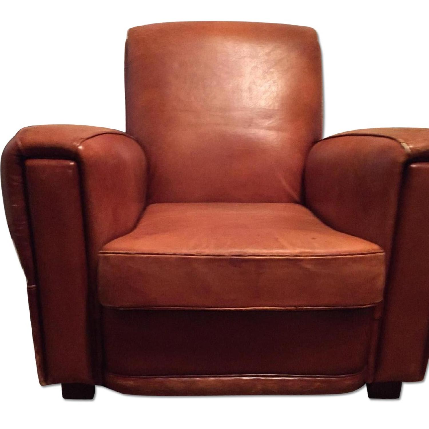 Portico Leather Club Chair - image-0