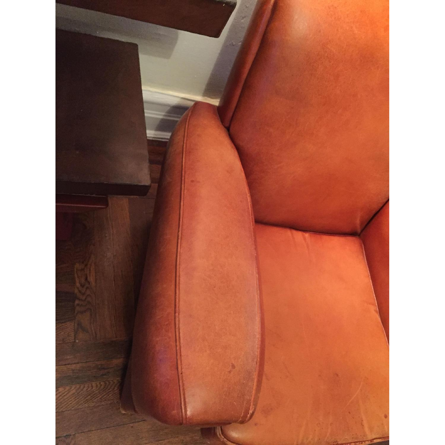 Portico Leather Club Chair - image-13
