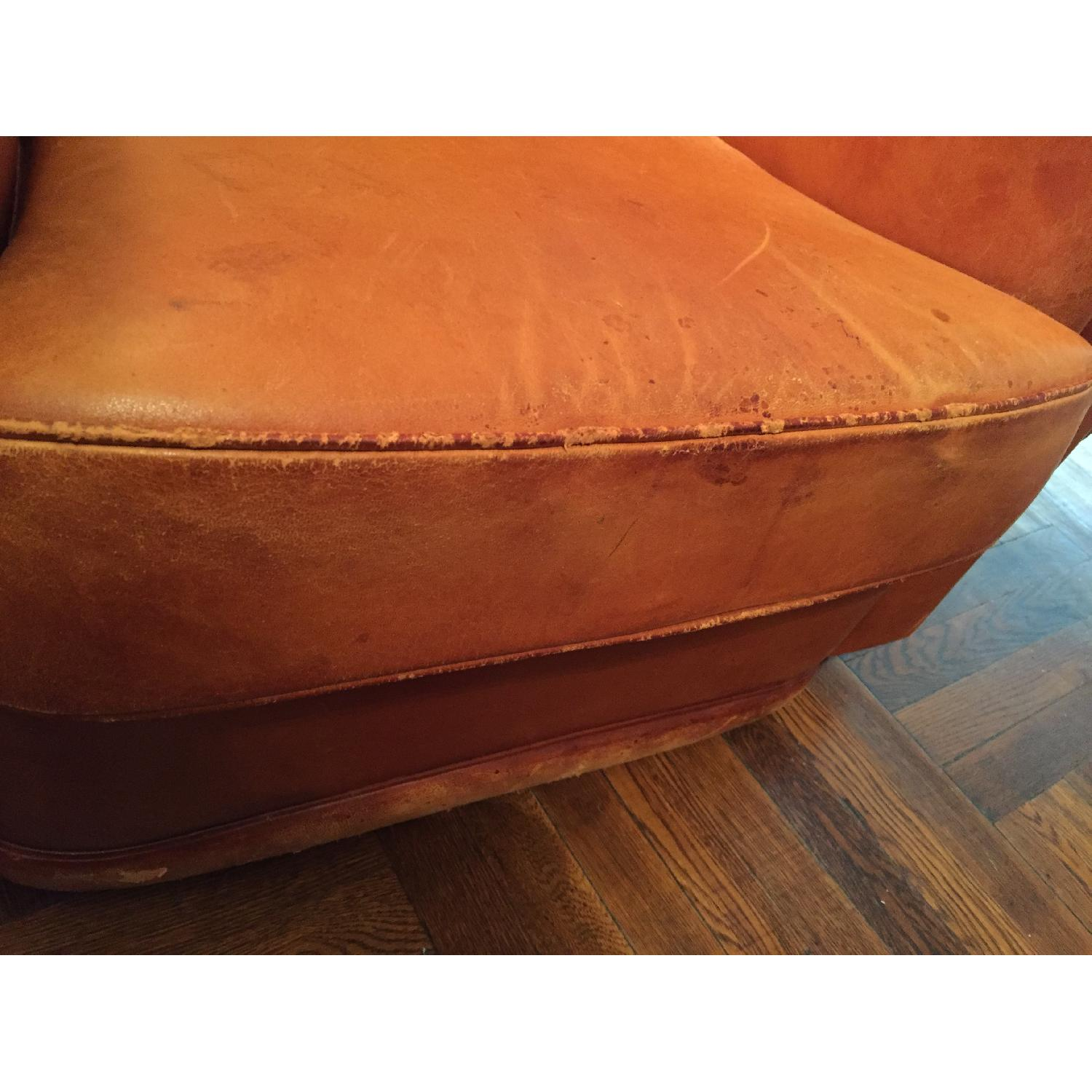 Portico Leather Club Chair - image-14