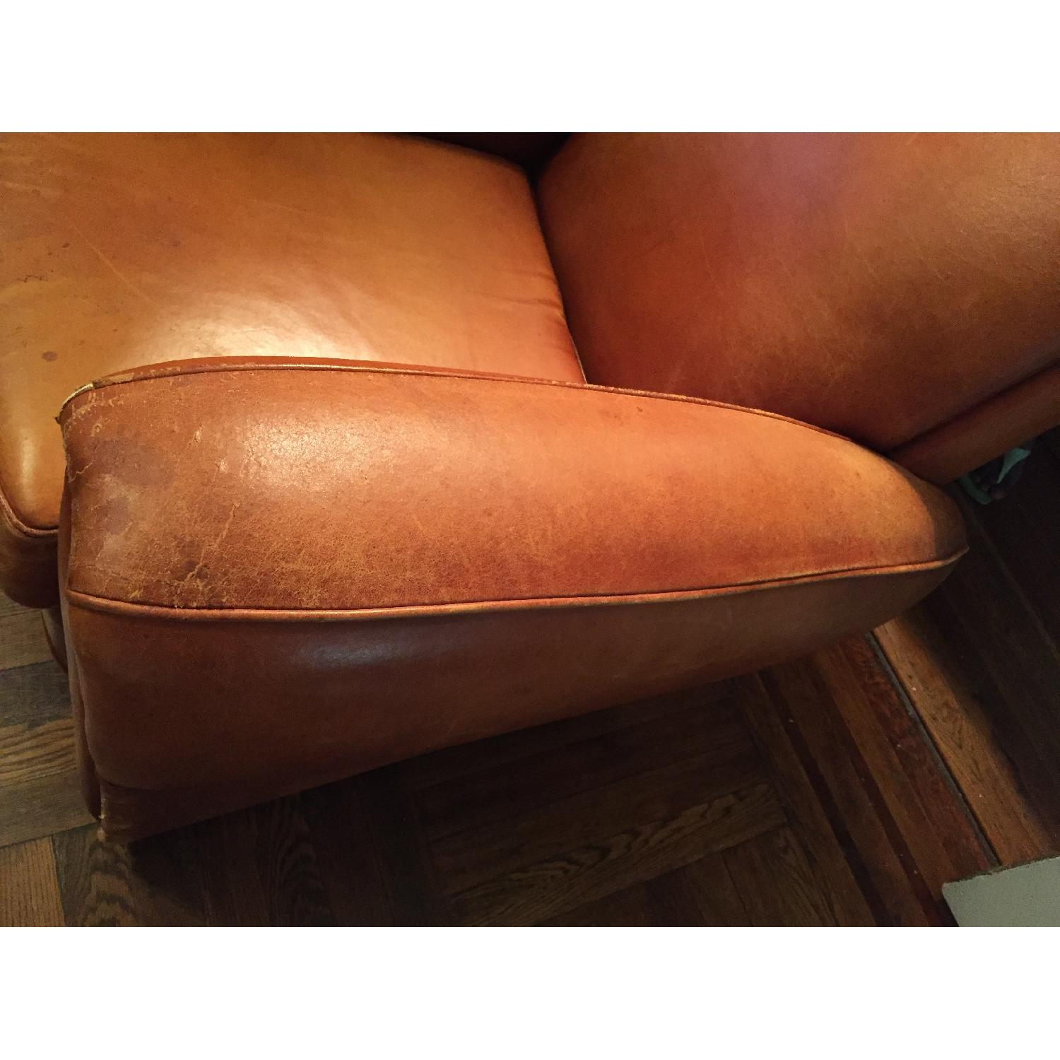 Portico Leather Club Chair - image-15