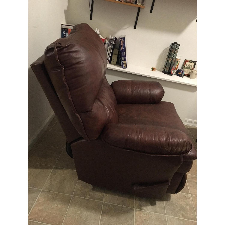 Lane Furniture Brown Recliner - image-8