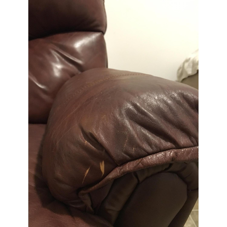 Lane Furniture Brown Recliner - image-9