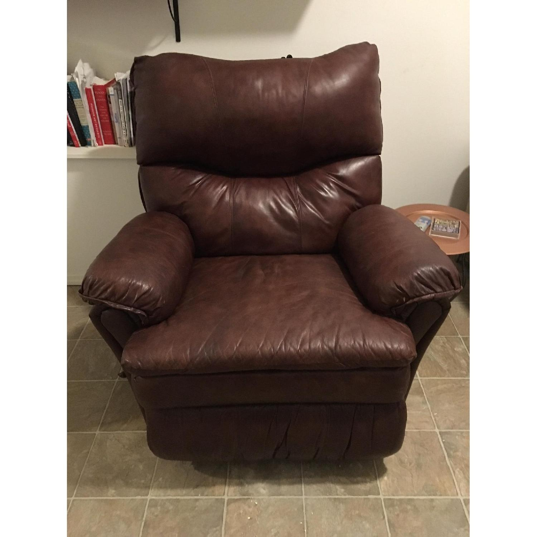 Lane Furniture Brown Recliner - image-10