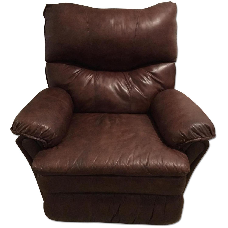 Lane Furniture Brown Recliner - image-0