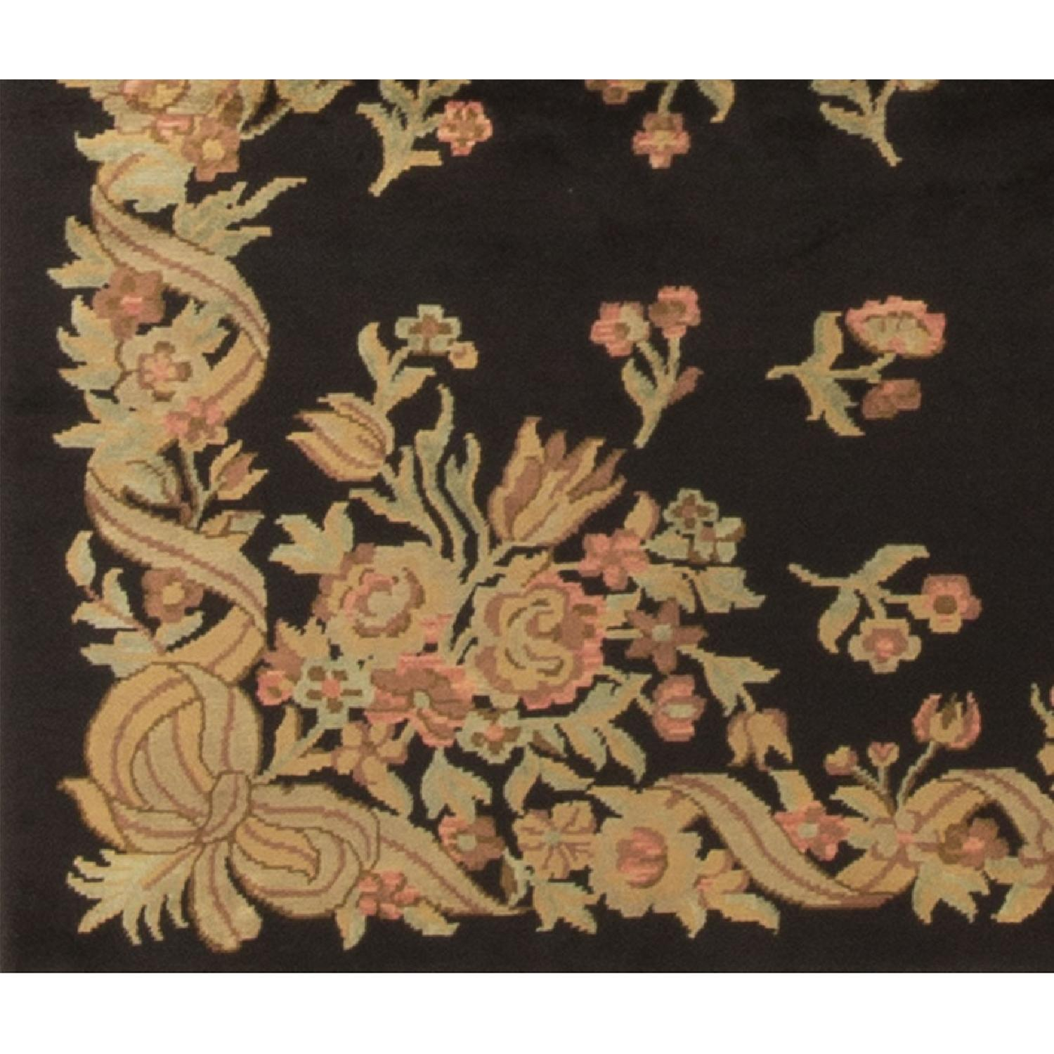 Modern Contemporary Hand Knotted Wool Rug - image-2