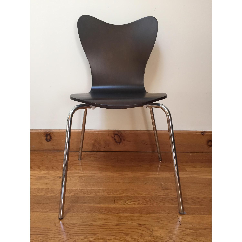 West Elm Scoop-Back Chair - image-3