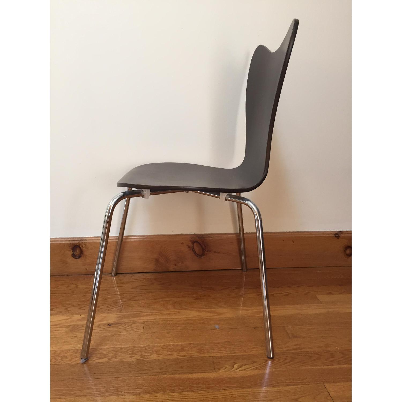 West Elm Scoop-Back Chair - image-5
