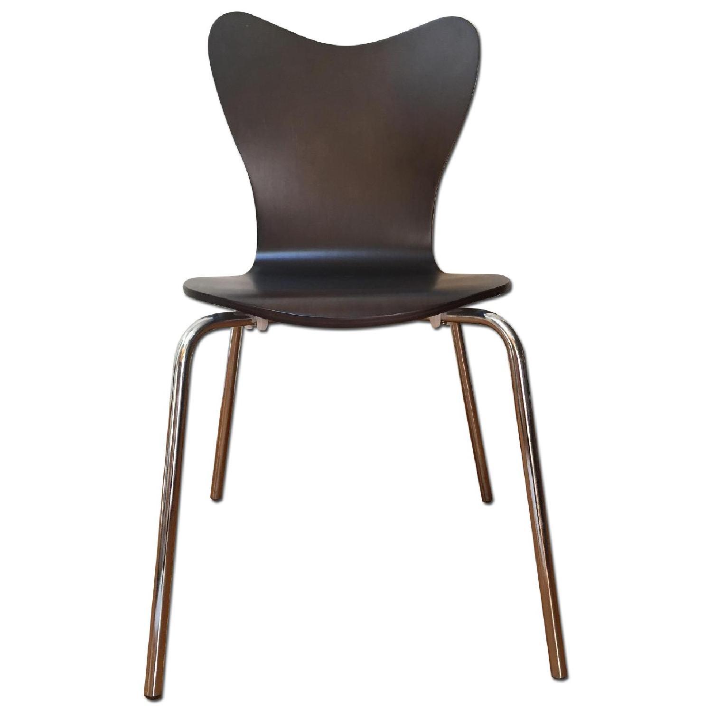 West Elm Scoop-Back Chair - image-0